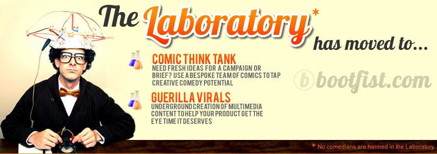 The Laboratory Bespoke Comedy Entertainment