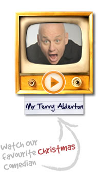 Mr Terry Alderton: Bespoke's Favourite Christmas Comedian!