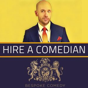 HIRE-A-COMEDIAN ONLINE Bespoke Comedy Entertainment