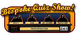 corporate entertainment comedy quiz show