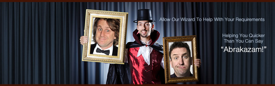 The Comedy Wizard Bespoke Comedy Entertainment