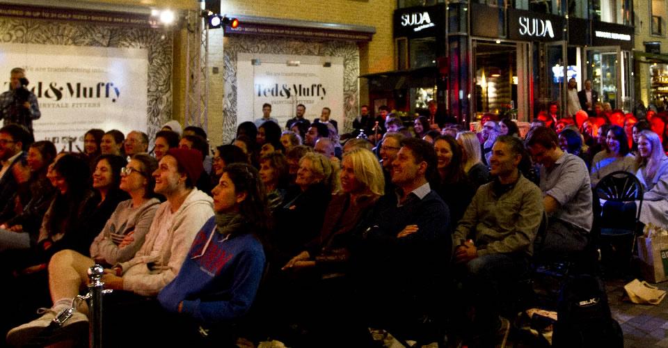 Al Fresco in Covent Garden Bespoke Comedy Entertainment