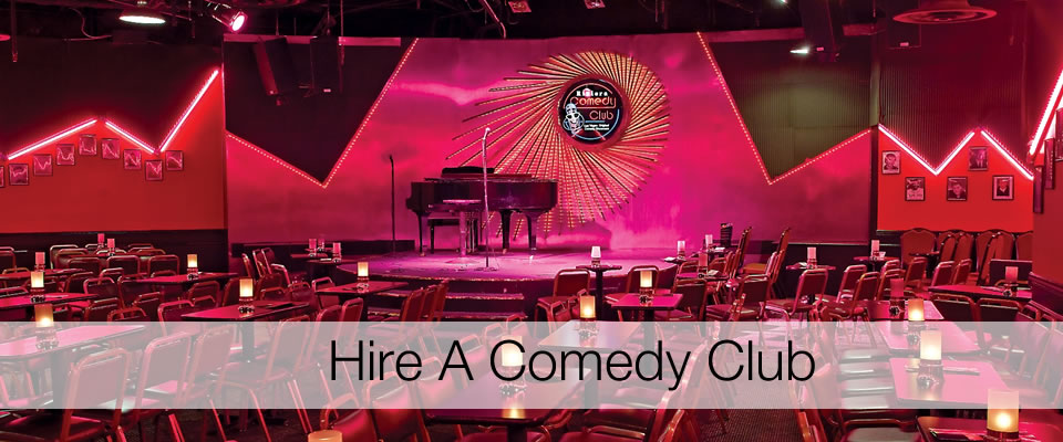 Comedy Club Hire Bespoke Comedy Entertainment