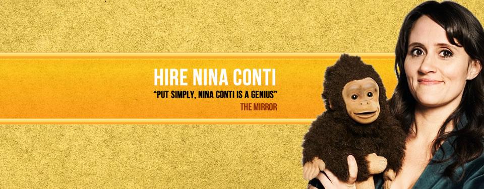 Hire Nina Conti Bespoke Comedy Entertainment