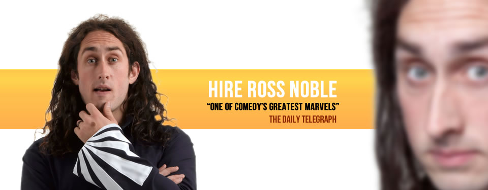 Hire Ross Noble Bespoke Comedy Entertainment
