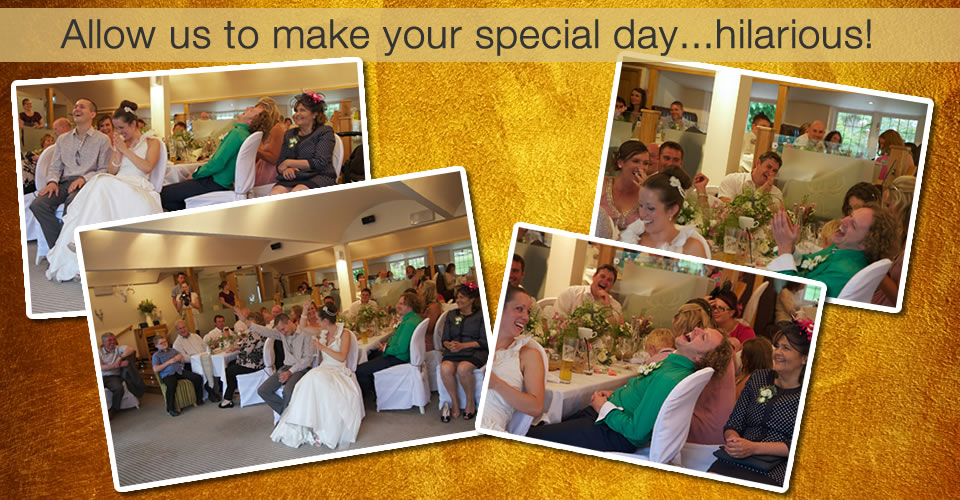 Hire Wedding Comedian Bespoke Comedy Entertainment