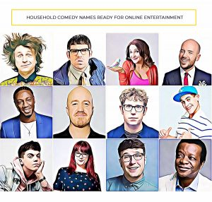 hire zoom comedians Bespoke Comedy Entertainment