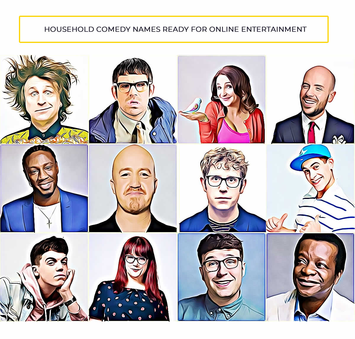 Live Streaming Comedy - Hire Zoom Comedians Bespoke Comedy Entertainment