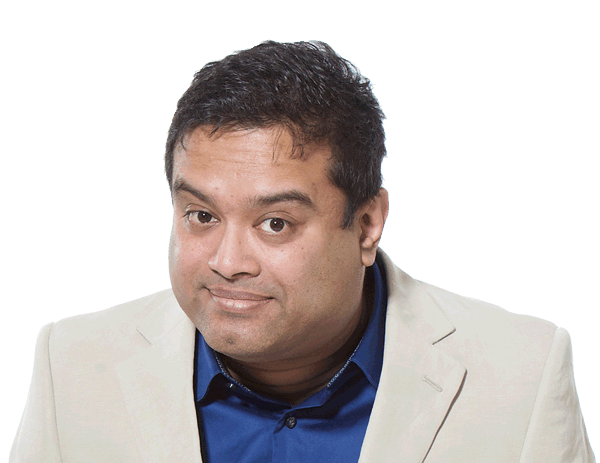 Hire Paul Sinha Bespoke Comedy Entertainment