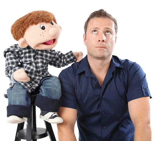 Hire Paul Zerdin Bespoke Comedy Entertainment