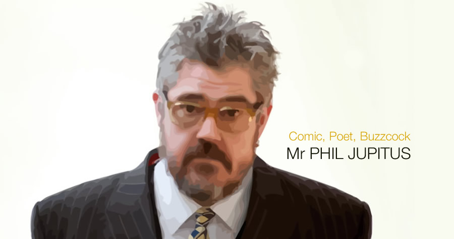 Hire Phill Jupitus Bespoke Comedy Entertainment