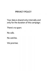 privacy Bespoke Comedy Entertainment